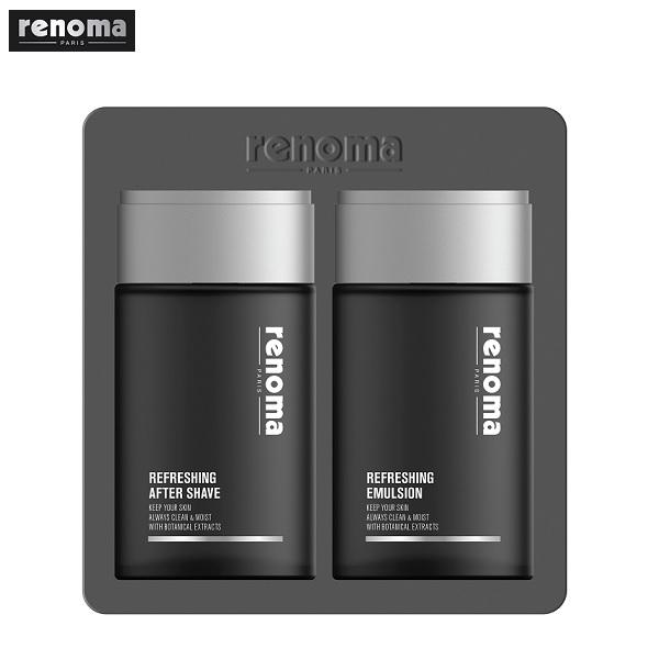 renoma 레노마 옴므 리프레싱 남성 스킨케어세트 스킨+로션
